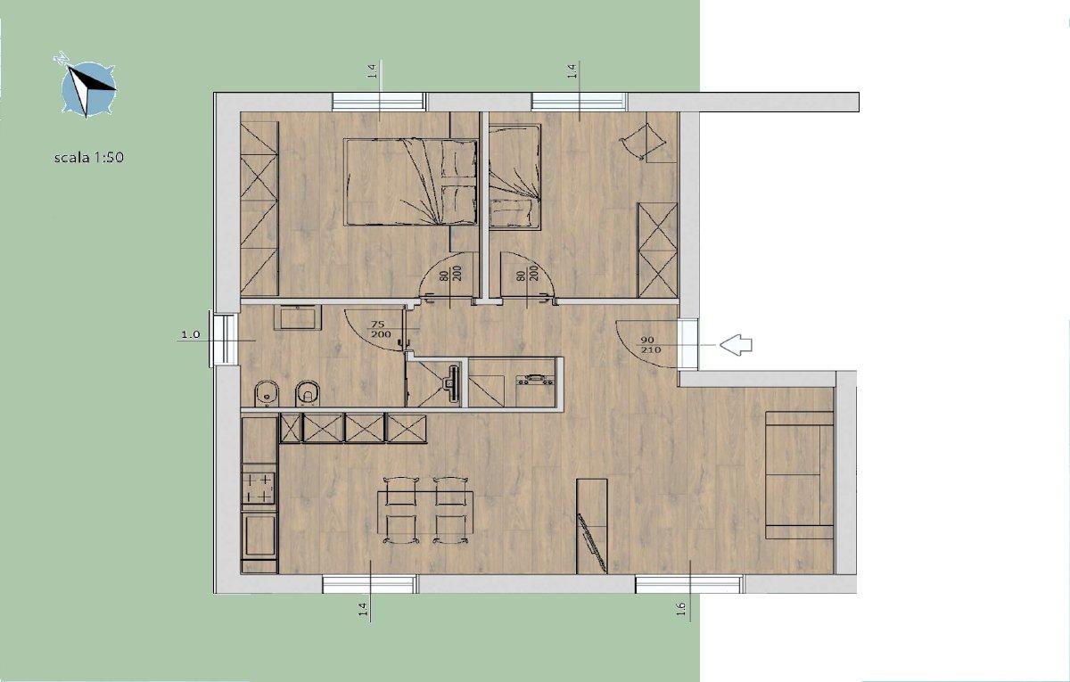 Residenza al lago di Tenno - Appartamento 1