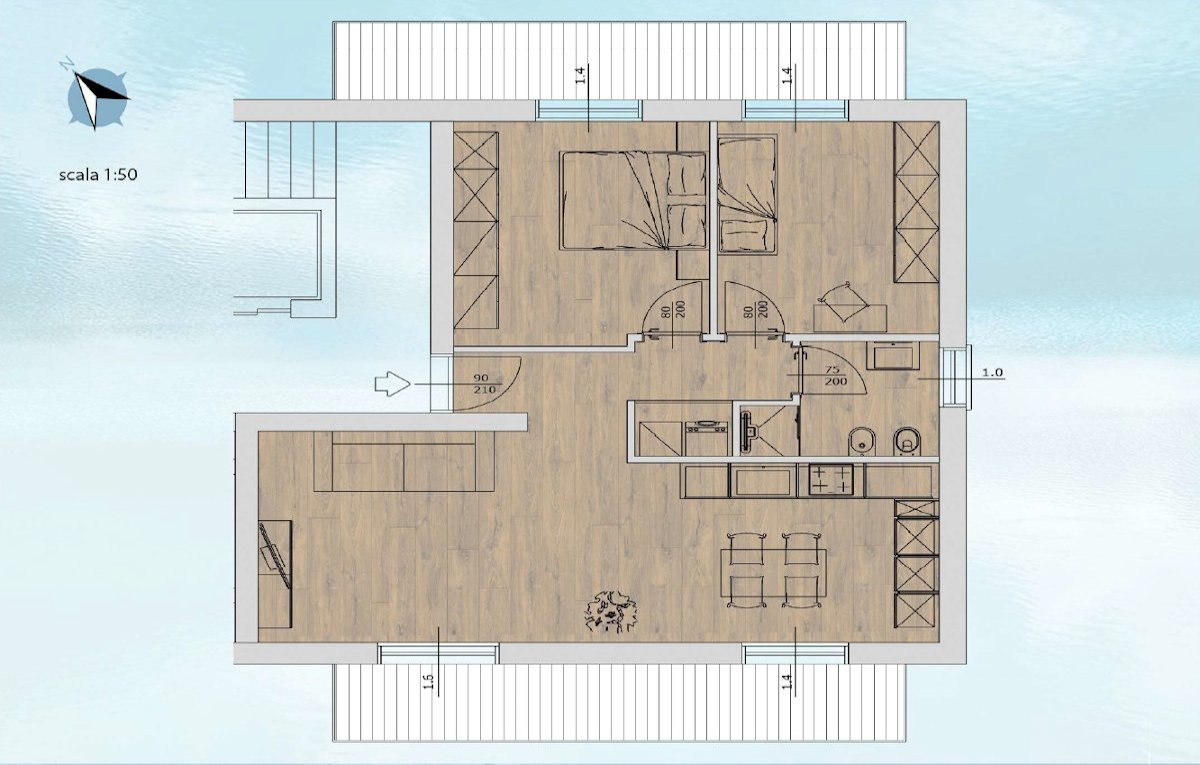 Residenza al lago di Tenno - Appartamento 4