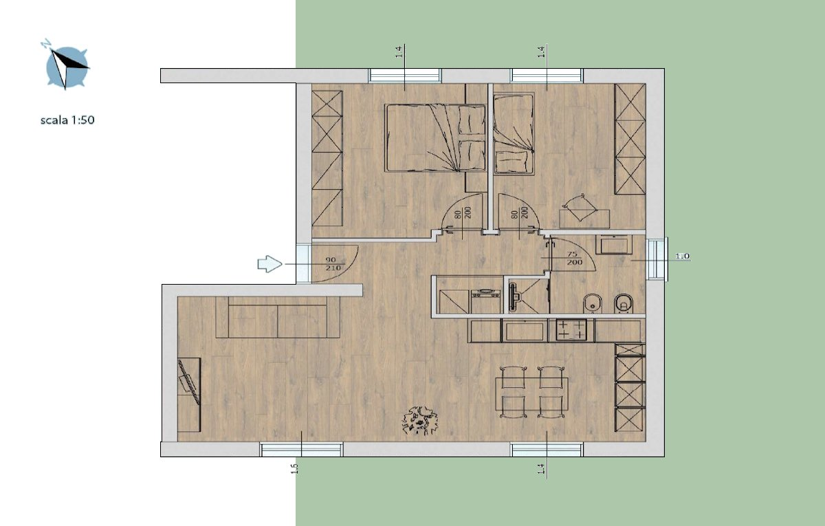 Residenza al lago di Tenno - Appartamento 2